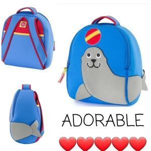  NWT 💙 ADORABLE Dabba Walla brand Backpack